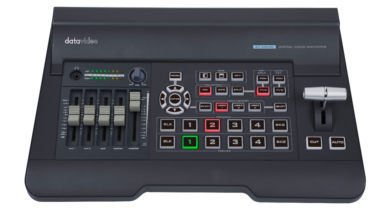How to use SE-500HD Video Switcher